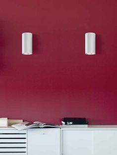 Luceplan E04050 white Wall Wall Lamps