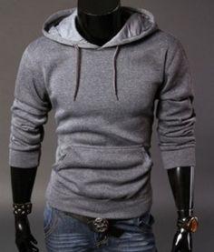 Pánská moderní mikina s kapucí světle šedivý – pánské mikiny + POŠTOVNÉ  ZDARMA Na tento produkt dbeed22cf8