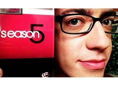 Kevin McHale on Set for Glee Season 5 on August 5, 2013