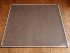 How to make a window screen. Very easy, and you can make it to fit your odd sized windows.