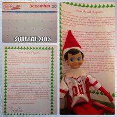 Elf on the shelf return letter