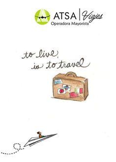 Viajar es vivir  ATSA viajes te invita a vivir.   Pregunta por nuestros destinos internacionales Consulta nuestros destinos internacionales: http://www.atsaviajes.com/#!internacional/c182n +Info al 50231008 ext 607   #ATSAviajes #ViajarEsvivir #AtreveteAviajar #MiViaje #YoviajcoconATSA