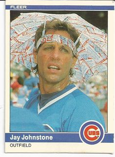 only the cubs had Jay Johnstone in the lineup today they wouldn't have to sweat this Cardinals game out. Pirates Baseball, Cubs Baseball, Baseball Players, Baseball Cards, Funny Baseball, Baseball Stuff, Football, Chicago Cubs Fans, Cubs Team