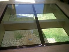 Glazing Vision supplied  high quality bespoke Multipart GV Flushglaze Walk-on #skylights.