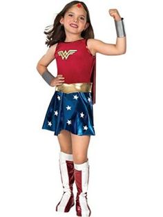 Deluxe Wonder Woman Child Costume  Medium I want to be wonder woman for halloween she is incredible! #DCcomics #wonderwoman #halloween #halloween2017 #superhero