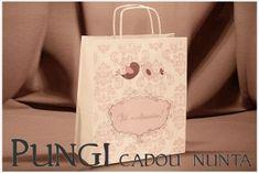 Cutii Nunta Personalizate   Marturii Nunta Online Paper Shopping Bag