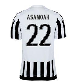 Maillot de foot Juventus Domicile 2015/2016 (22 Asamoah)