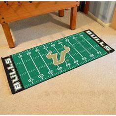FANMATS NCAA University of South Florida Football Field Runner