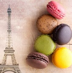 To eat macaroons in france. OHMYGOSH......I FORGOT THESE EXISTED! These are at the top of my list when i visit france! #yummmm.