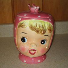 Miss Cutie Pie by Napco  Cookie Jar