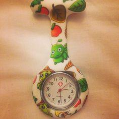Cute fob watch for children's nurses!!