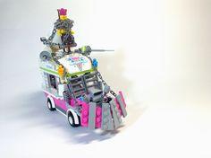 Les bagnoles de 'Mad Max: Fury Road' en Lego   The Creators Project