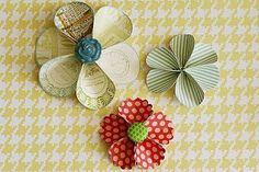 Studio Calico: Circle Flower Tutorial