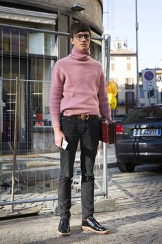 A look at our favorite menswear street style so far.