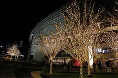 Christmas lights Cowboys stadium