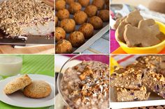 20 Healthy Gluten-Free Power Snacks, from one of my favorite food bloggers, Leanne (www.healthfulpursuit.com). She has some GREAT grain-free recipes!