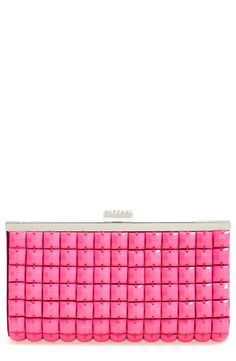 Cute pink candy crystal clutch.