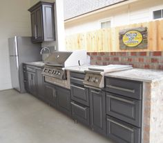 Custom Outdoor Kitchen by Wooden Specialties!