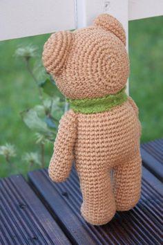 Oso de peluche de Amigurumi Crochet Modelo-Teddy Bear Pdf Tutorial - Tutorial Crochet descargable
