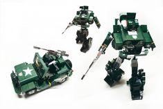 Autobot Transformer HOUND by Orion Pax