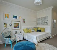 I love rooms like this. They can transition from baby to teen in a flash. afternoon_sun