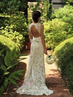 ericdress.com offers high quality Ericdress Beautiful Backless Lace Wedding…