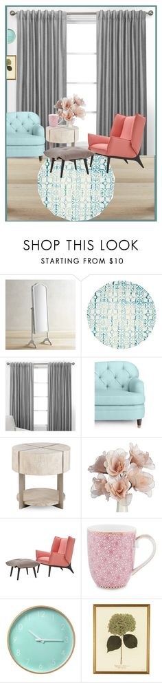 """Без названия #5870"" by maria-kononets ❤ liked on Polyvore featuring interior, interiors, interior design, home, home decor, interior decorating, Pier 1 Imports, Safavieh, Kate Spade and PiP Studio"