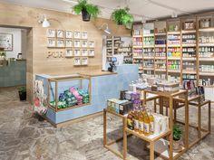 PÜR store interior (made by Bond).