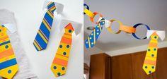 manualidades_infantiles_para_el_dia_del_padre_corbatas_de_papel_para_decorar