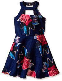 La flor del vestido de Miss Behave Harley Girls '