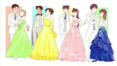 Dc Couples, Anime Couples, Detective Conan Shinichi, Detective Conan Wallpapers, Gosho Aoyama, Anime Group, Magic Kaito, Princess Zelda, Disney Princess