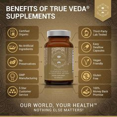 Our #Turmeric supplements are organically certified worldwide to standards such as Soil Association Organic @soilassociationbeauty USDA and EU Organic. They're also free from artificial ingredients and preservatives providing completely natural and suitable supplements for vegetarians & vegans! They contain NO fillers and binders plus they're easy to swallow - so you don't have to worry about any enormous sized capsules! Want to know more about how our products are tested? Check out our GOLD… Organic Turmeric, Turmeric Supplement, Coffee Bottle, Vegan Friendly, Preserves, Fun Facts, Amazing Facts, Spectrum, Stuffed Peppers