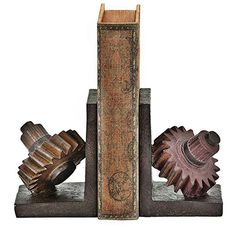 Poly-stone Gear Bookend, 7 By 5-inch, Set of 2 Bellaa https://www.amazon.com/dp/B01N6FPA62/ref=cm_sw_r_pi_dp_x_UGkJyb048HMD6