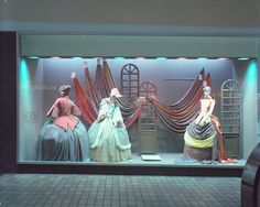 A John Lewis Partnership shop window This is a photograph of a shop window display in Bainbridge, part of the John Lewis Partnership. It was taken in Newcastle upon Tyne at some time in the 1970s.