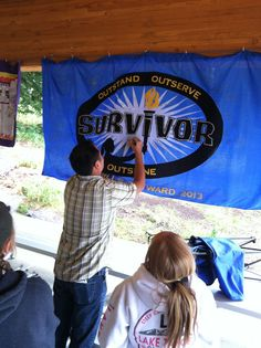 Oh man. This was the best Girls Camp Ever!! And it might've helped that the theme was Survivor!! That is one of our favorite shows that we'v...