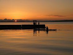 Kayaking at Sunset on Waskesiu Lake in Prince Albert National Park