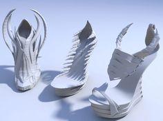 Souliers, crées par Janina Alleyne, symboles du potentiel créatif sans fin de…