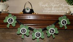 Free St. Patrick's Day project over on www.craftprojectcentral.com!