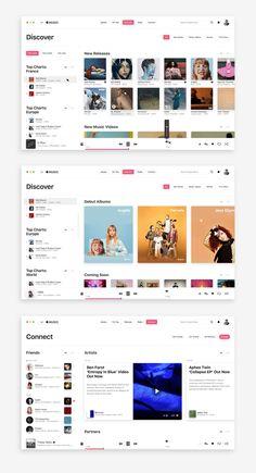 Desktop Design, Graphisches Design, Layout Design, Site Design, Flat Design, Dashboard Design, App Ui Design, User Interface Design, Web Design Examples