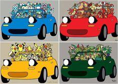 #throwback @_megdog's Poke'Miata #TopMiata #pokemon #pokemongo #pokemiata  TopMiata.com  #mazda #miata #mx5 #eunos #roadster #mazdamx5 #mazdamiata #mazdaroadster #namiata #namx5 #pokemonmiata