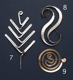 Alexander Calder, Untitled (Spiral Brooch)