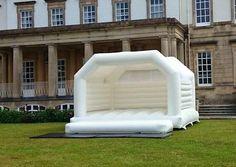 White Wedding Bouncy Castle Hire