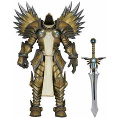 """Heroes of the Storm: Tyrael 7"""" Action Figure (Series 2) 