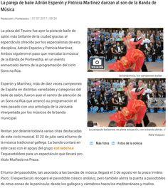 Exhibición en la Plaza del Teucro con la intervención de la BMP Plaza, Dance Floors, Sporty, Couples, Musica