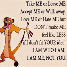 take me or leave me life quotes quotes cute quote cartoons life quote