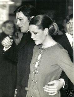 Alain Delon and Romy Schneider - romy-schneider Photo