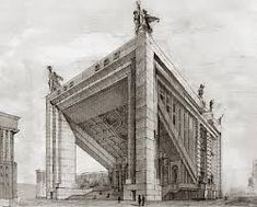 Panteon boris iofan d i b u j o s pinterest for Architecture totalitaire