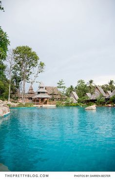 Thailand beach resort with large pool Thailand Beach Resorts, Thailand Travel, Wanderlust Travel, Around The Worlds, Relax, Explore, Photograph, Water, Outdoor Decor