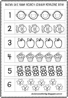 54 En Iyi Okul öncesi Sayı çalışma Sayfaları Preschool Number