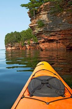 Apostle Islands Nationald Lakeshore and Bayfield, Wisconsin